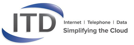 Internet Telephone Data Logo